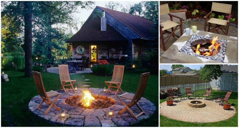 40+ DIY Fire Pit For Your Backyard F