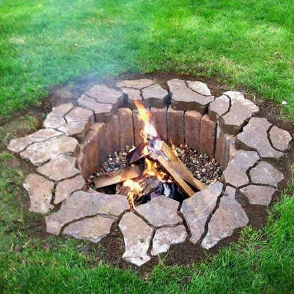 Delightful 38 Easy And Fun DIY Fire Pit Ideas   Amazing DIY, Interior U0026 Home Design