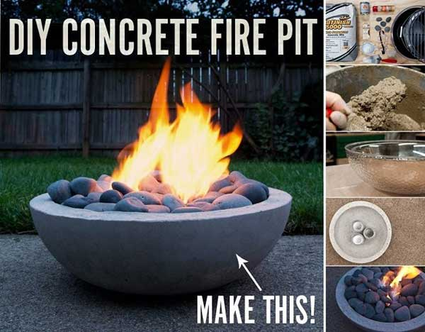 40+ DIY Fire Pit for your Backyard18