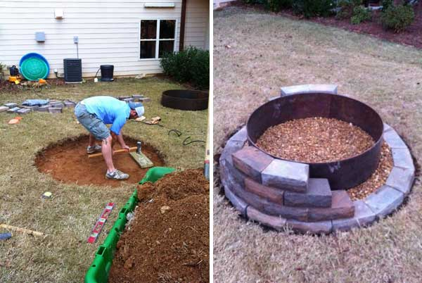 40+ DIY Fire Pit for your Backyard20