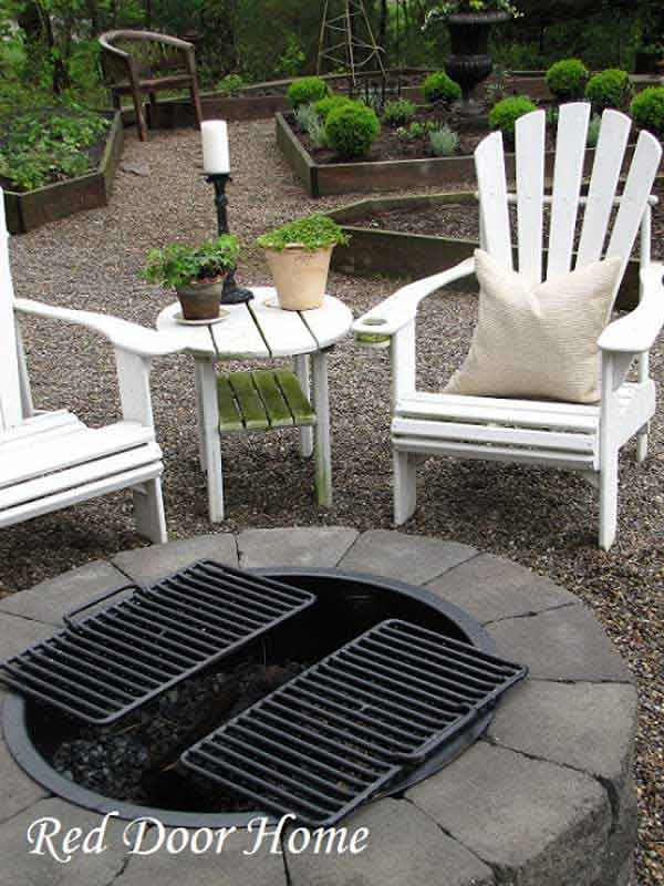 40+ DIY Fire Pit for your Backyard21