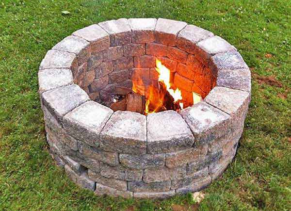 30 Diy Fire Pit Ideas And Tutorials For Your Backyard