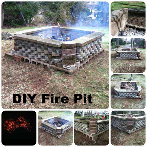 40+ DIY Fire Pit for your Backyard26
