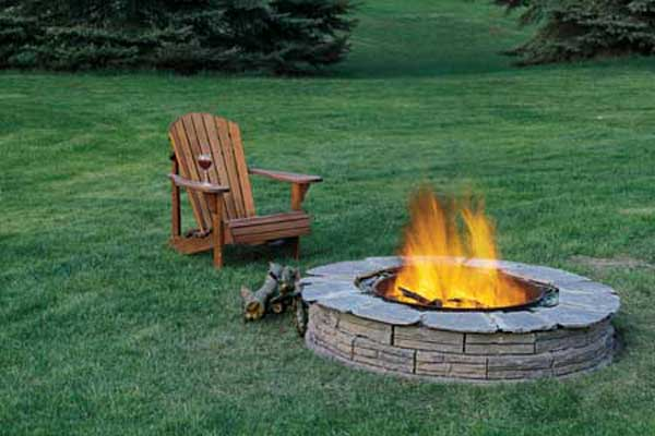40+ DIY Fire Pit for your Backyard7