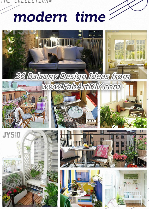 26 balcony design ideas