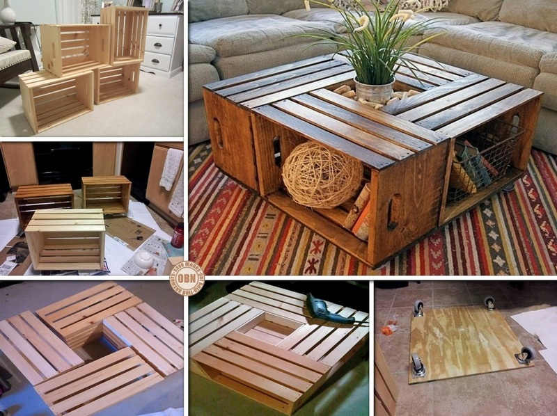 - How To DIY Wine Crate Coffee Table