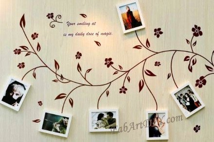 Romantic DIY Photo Display Wall Art Ideas