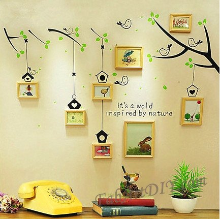 Picture Frame Wall Art Ideas | Design Ideas