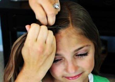 DIY Braided Rose Flower Hairstyle6