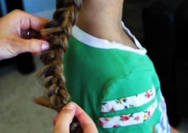 DIY Braided Rose Flower Hairstyle5