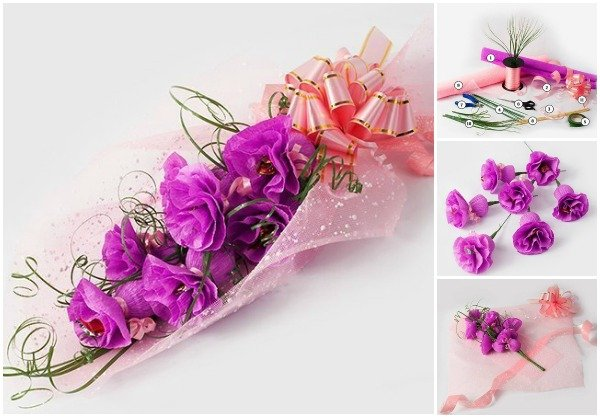 Diy Carnation Flower Chocolate Bouquet Www Fabartdiy Com