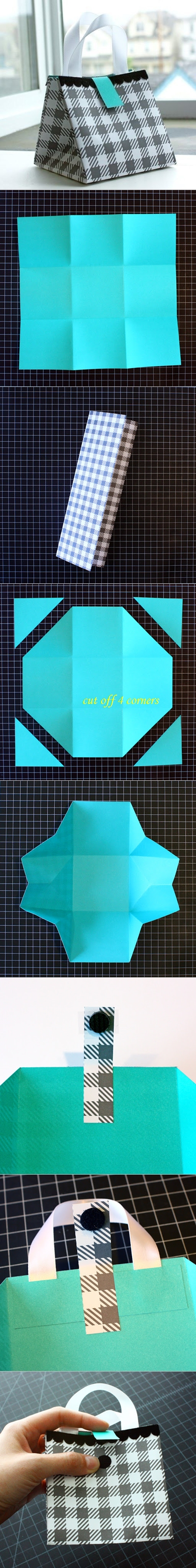 Diy-Paper-Bag tutorial