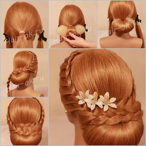 Hairstaily : How to DIY Elegant Evening Braid Hairstyle www.FabArtDIY.com