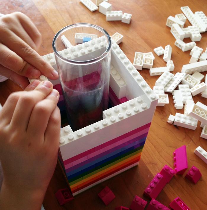How to DIY Lego Vase Tutorial