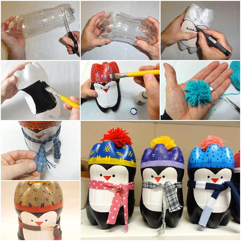 Пингвины сделанные своими руками