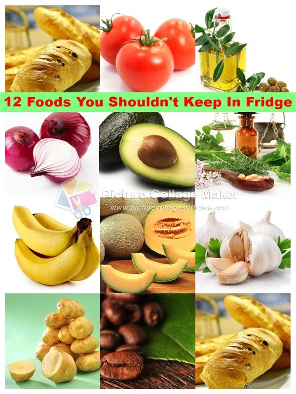 12 foods not put in fridge feature