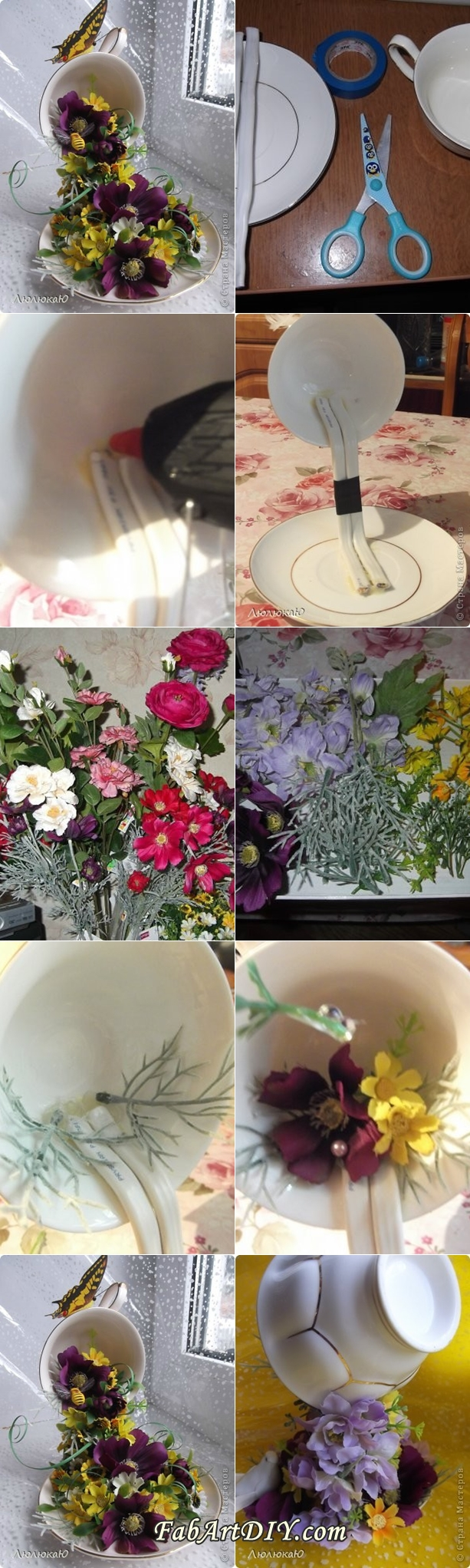 flower pouring cup tutorials