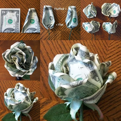 Diy dollar rose fab art diy for Gifts u can make
