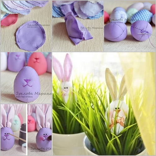 egg bunny feature