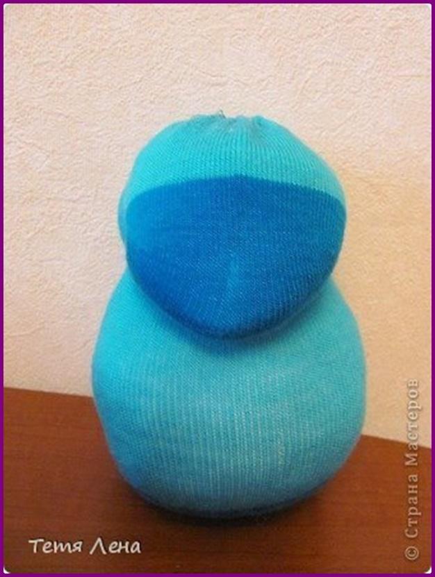 DIY Sock Hedgehog Toy Tutorial 4