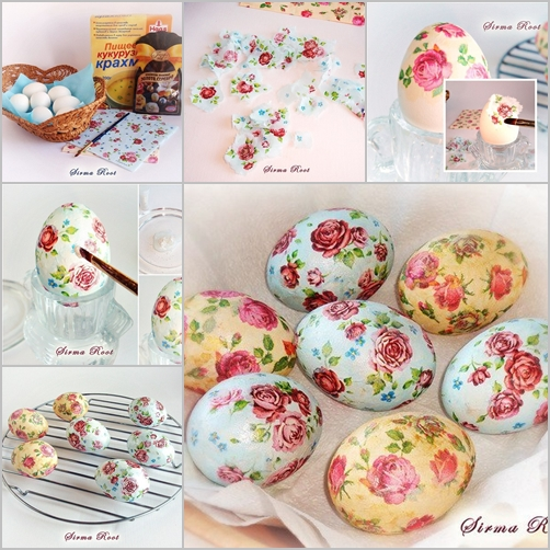 how to diy decoupage easter egg fabartdiy