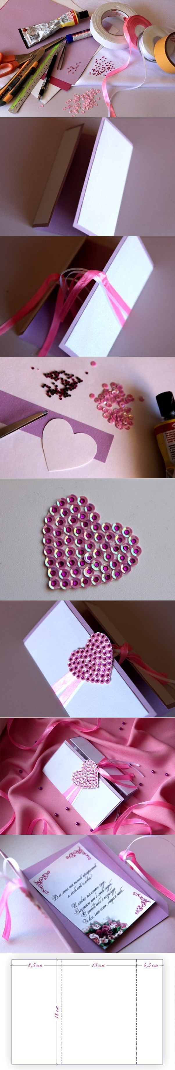 greeting card with bling tutorials