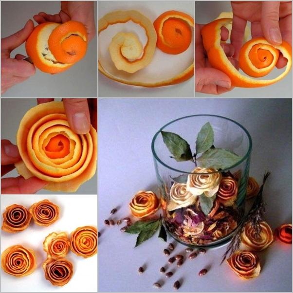 orange peel rose feature