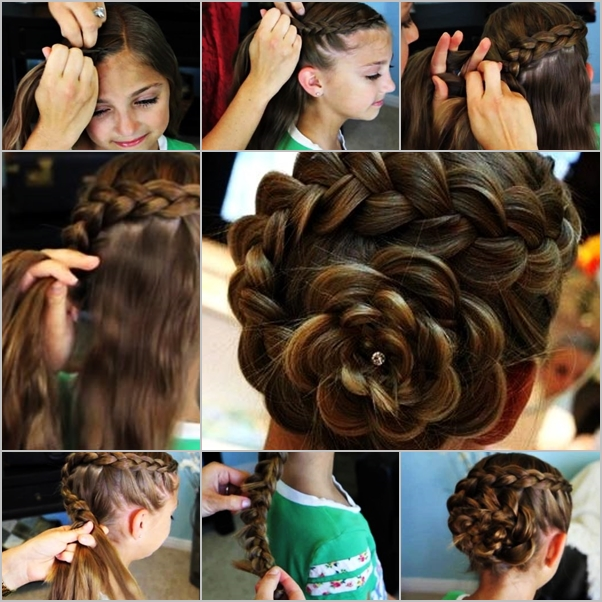 rose photo ideas with hair dye purple also picture of hairstyle rose ...