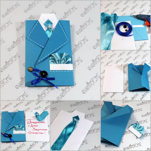 suit greeting card feature
