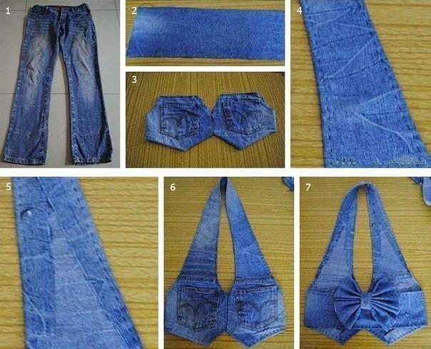 Сшить джинсовку своими руками