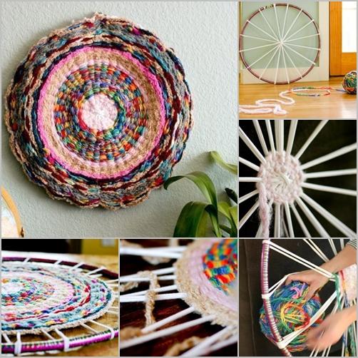 Amazoncom woven rag rugs