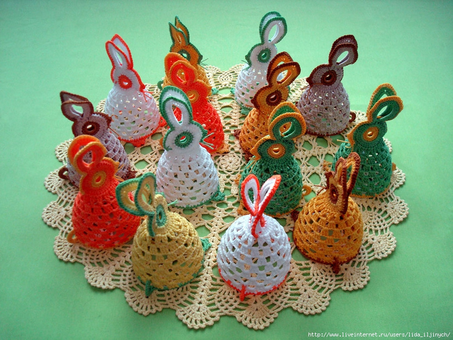 crochet chick free pattern, Easter craft, crochet bunny