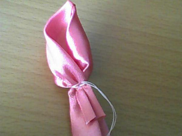 How to DIY Pretty Satin Ribbon Rose Tutorial