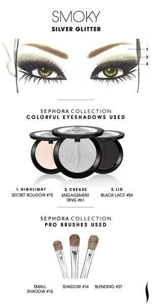 Sephora Makeup Templates Of Eyeshadow Fab Art DIY - Eyeshadow template