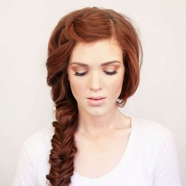 DIY Bohemian Side Braid Hairstyle Fab Art DIY