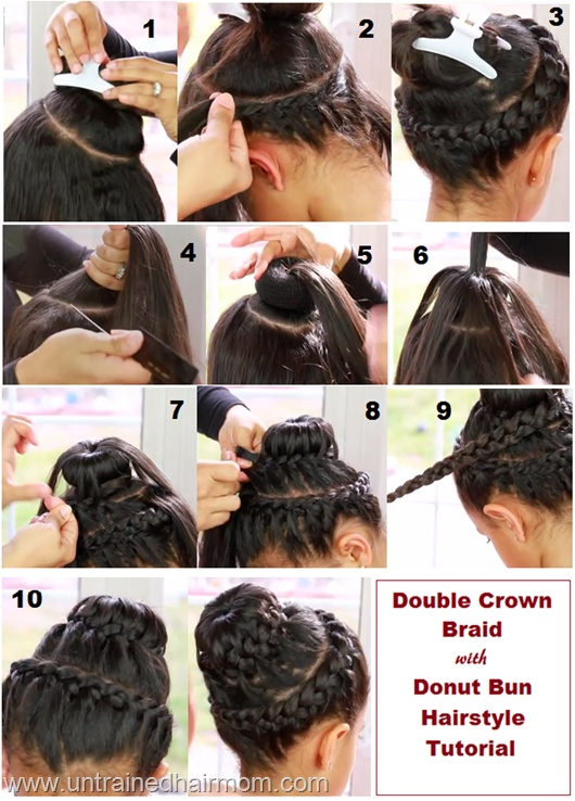 Super How To Do Bun Braids Braids Short Hairstyles Gunalazisus