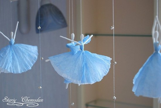 How to DIY Tissue Paper Ballerina0