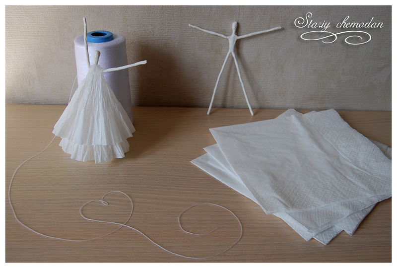 How to DIY Tissue Paper Ballerina10B