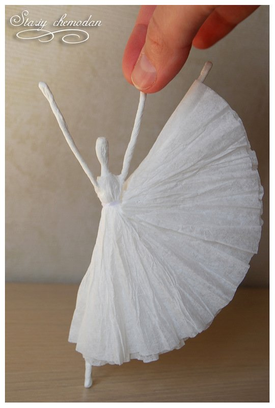 How to DIY Tissue Paper Ballerina12