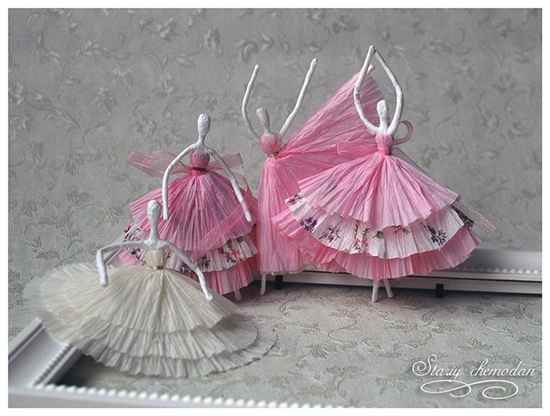 How to DIY Tissue Paper Ballerina13