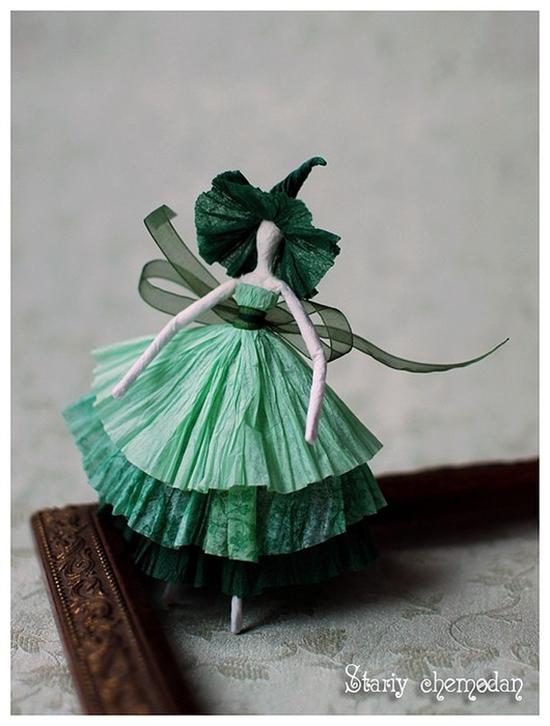 How to DIY Tissue Paper Ballerina14
