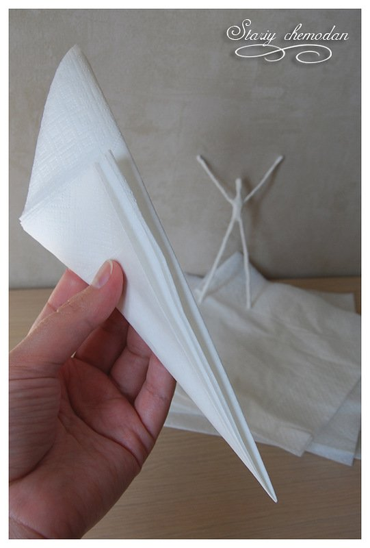 How to DIY Tissue Paper Ballerina6