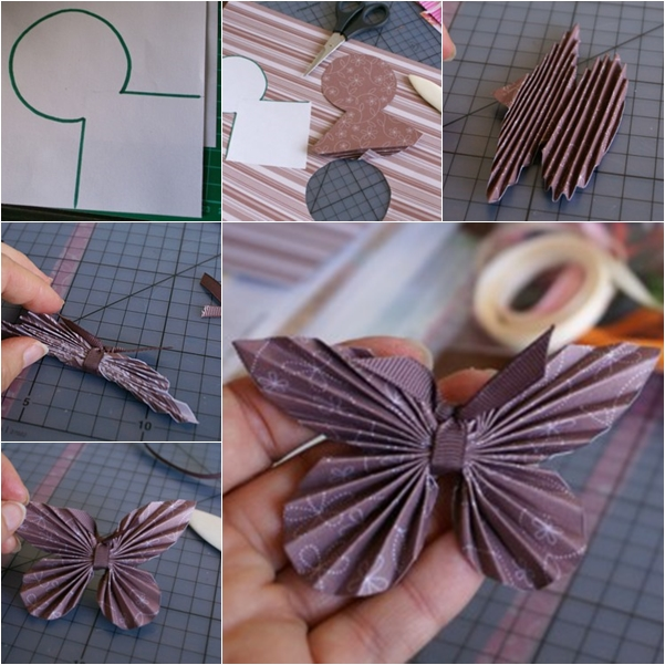 How to diy paper butterfly with paper scrap butterfly f mightylinksfo