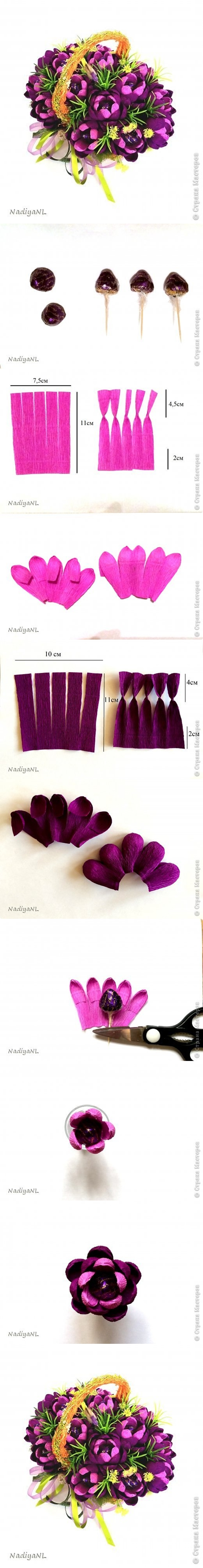 Diy Beautiful Chocolate Flower Bouquet Fab Art Diy Tutorials