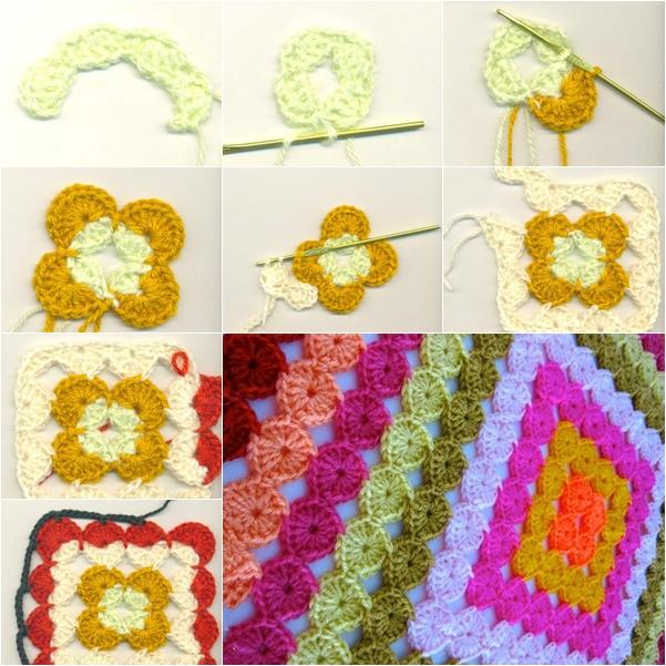 crochet blanket f
