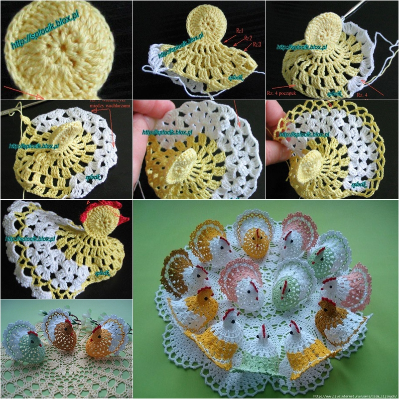 Diy Cute Crochet Chick Or Bunny Fab Art Diy Tutorials