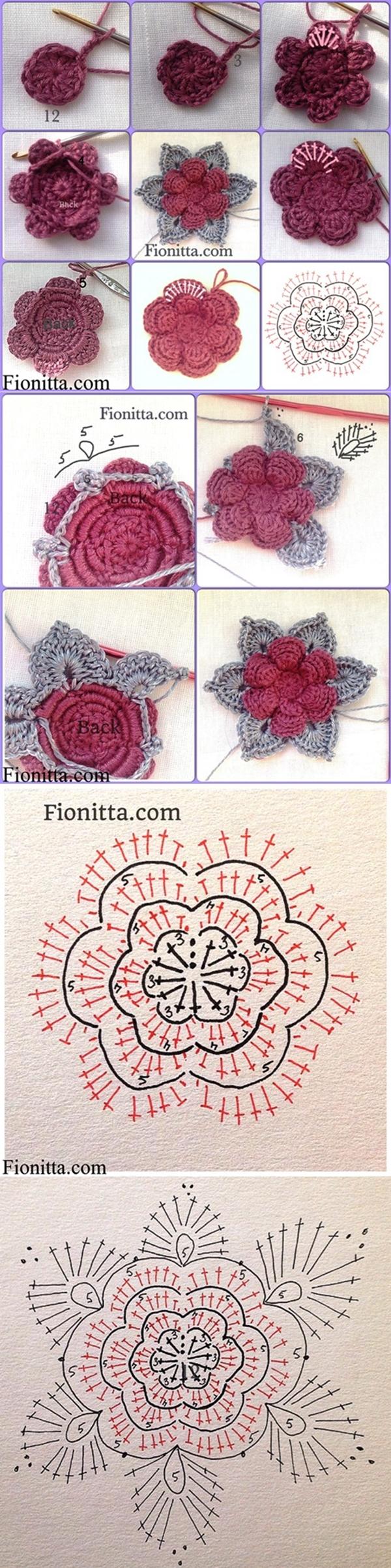 crochet rose-1