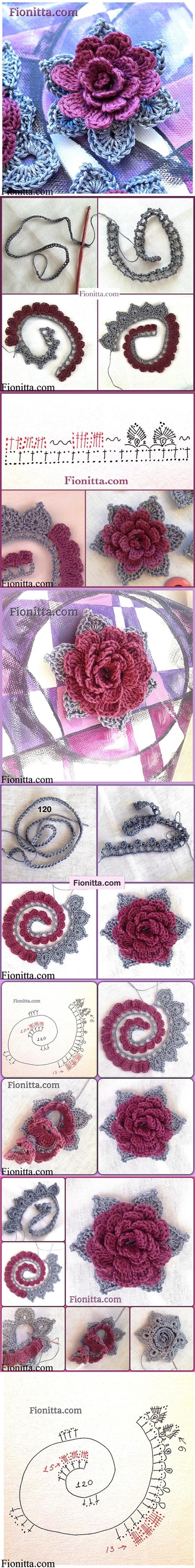 crochet rose-3