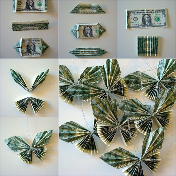 Origami Butterfly For Wall