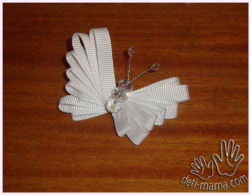 DIY Easy Ribbon Butterfly Tutorial with Video